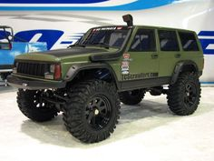 jeep cherokee xj crawler