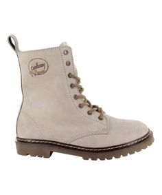 Another great find on #zulily! Ice Elva Leather Boot #zulilyfinds