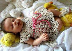Vestído crochet
