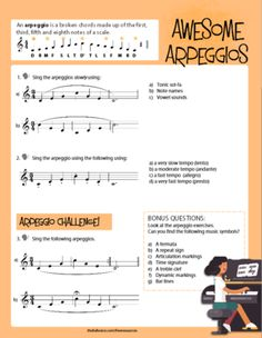 FREE PDF DOWNLOAD: Vocal Warm-Ups for Kids- Awesome Arpeggios. Turn simple arpeggios into challenging and fun exercises!