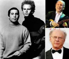 Simon & Garfunkel (Paul Frederic Simon 1941. október 13.) (Art Garfunkel 1941. november 5.)