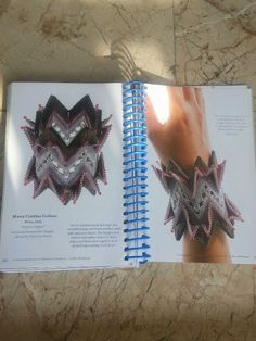 "LaGrif Bijoux Geometrie e altre creazioni by Maria Cristina Grifone. My work in  Kate McKinnon's book ""Contemporary Geometric Beadwork"" Vol II . Design LaGrif. Handmade by LaGrif"