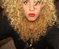 Crystal Collazo curls for days