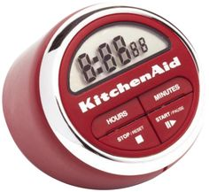 Kitchen: Excellent White Lux Extended Ring Kitchen Timer from Fascinating Experiences with the Kitchen Timer