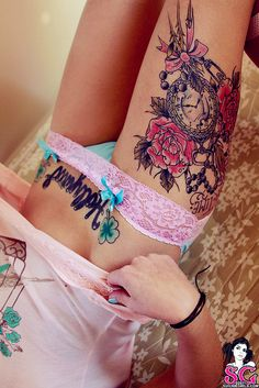Check out LoveItSoMuch.com to discover unique products like Romantic Pink Lace Tattoo Lingerie.