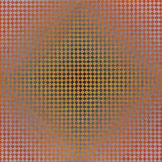 "Annell Livingston Fragments Geometry & Change #211, 30"" x 30"" Gouache on w/c paper."