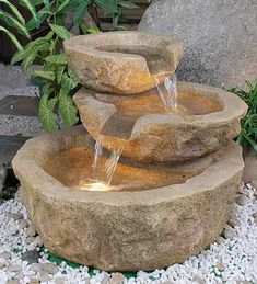 Sasso Fountain...You've felt the power of negative ions when you've walked on the beach or beneath a waterfall. Part of your mood lift was due to the thousands of negative ions circulating in the air there. Many homes have a small amount of them, many have zero. But when you put an indoor fountain in your home, suddenly the air you breathe is brimming with negative ions, and the euphoria they bring. Couldn't you use some of that?