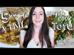 5 ways to cook with TOFU This video shows some of my go-to ttofu recipes that are easy to follow and simple to make. Tofu is a bland and tasteless food and m...