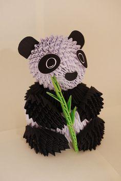 Panda en origami, j'en suis pas encore à ce niveau!