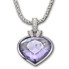 #pingagement #helzbergdiamonds                 Swarovski Oceanic Tanzanite Color Crystal Pendant - Shop All Pendants & Necklaces - Pendants & Necklaces - Jewelry - Helzberg Diamonds
