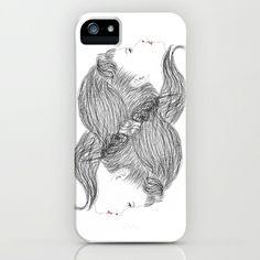 hair iPhone & iPod Case by creaziz - $35.00