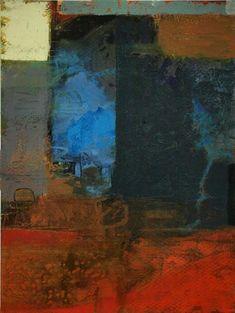 Substratum #1, Acrylic on Paper,  20 x 15