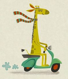 Girafe!