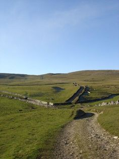 Mastiles Lane, Kilnsey, #YorkshireDales. A Roman marching road, now a Dales walking track. via @Abundant Planet