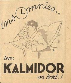 "Kalmidor. "" Insomnies.. Avec KALMIDOR on dort ! "" #insomnia"