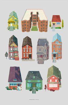Las casas de Chicago