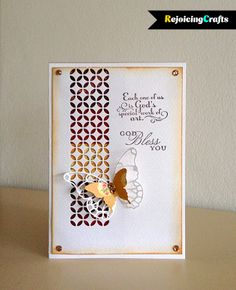 RejoicingCrafts: Trust God by Stampin Up