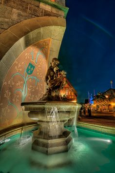Cinderella's Fountain.