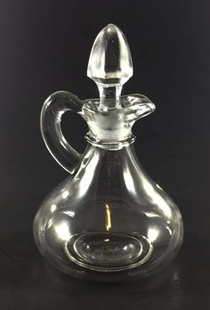 Vintage Glass Bud Vase A Plastic Case Is Compartmentalized For Safe Storage Pottery & Glass