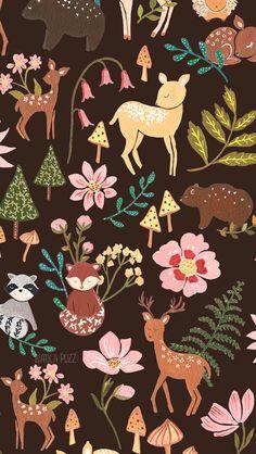 A ilustradora Bianca Pozzi é de Londrina - PR, tem 34 anos e é ilustradora há 2 anos. Ela faz aquarelas e ilustrações super fofas e adoráveis e aproveitou pra fazer estes wallpapers super delicadinhos...