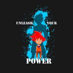 Awesome 'UnleashyourPower' design on TeePublic!
