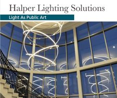 Wonderful custom light fixture completed in collaboration with design teams and brought to life at a College in Cleveland Ohio. Cleveland Ohio, Custom Lighting, Lighting Solutions, Public Art, Light Fixtures, Collaboration, Fair Grounds, College, Travel