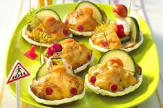 If you want to emphasize on creative and interesting touch , then look at our easy and fun appetizers and snacks recipes. Every kids party needs a fun and