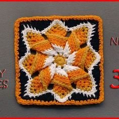 Number 305 of our 365 Days of Granny Squares is on the blog! Another month down! 2 more to go! This one is called Pinwheel Star Square and is designed by Bonnie. Be sure to share your photos! Today's square is one of my favorites of the year! It would be a great hot-pad and it looks great on both sides, so it could be a great blanket too! Happy Halloween! Enjoy!! ❤ Nadia  #crochet #crocheted #yarn #yarnutopia #handmade #yarnporn #handmade #diy #crafty #yarnballs #yarnball #fiber #fancy…