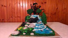 Surprise Inside Woodland Cake