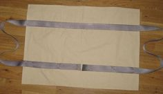 Simple to Sew Log Firewood Carrier: Strap Placement and Sewing