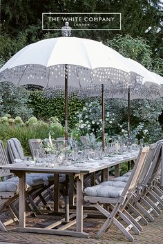 At Home With Chrissie Rucker, Founder of the White Company - Luxury Pool House Photos The White Company, Outdoor Dining, Outdoor Spaces, Outdoor Decor, Alice Coltrane, White Books, White Aesthetic, Shades Of White, Maine House