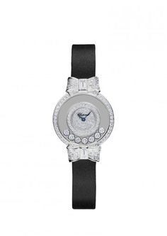 Chopard Watches Happy Diamonds Icons Watch 18-carat white gold and diamonds