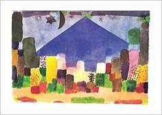 Paul Klee - Notte egiziana - Art Print