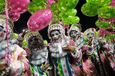 Monatelang wird der Auftritt auf dem Karneval in Rio vorbereitet - jedes Jahr...
