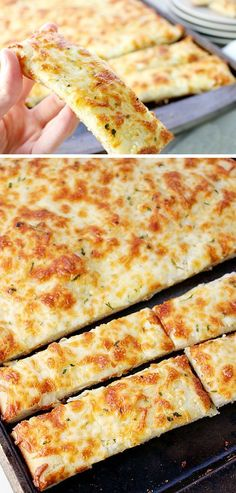 Cheesy Breadsticks | Click Pic for 21 Quick and Easy Snacks to Make | Cheap and Easy Recipes to Feed a Crowd