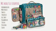 Pega papel o tijeras: Mi maleta scrapera ☆Especial talleres☆