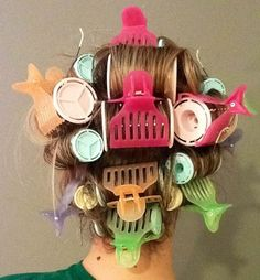 Hot Rollers: Your New Best Friend!!  The proof is in the pudding......