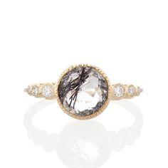 Aurora Ring with Tourmalinated Quartz | Vale Jewelry