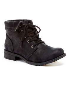 This Black Thornhill Ankle Boot is perfect! #zulilyfinds