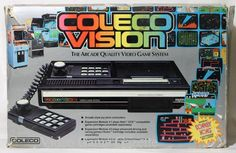 Colecovision:They (Coleco Games)wanted some of that Atari action..but never quite achieved the staying power (like Atari 1600) it should have ..shame...