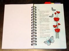 Copic art journal page and link party every Thursday -