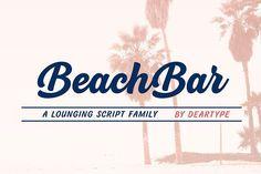 BeachBar by DearType on @creativemarket