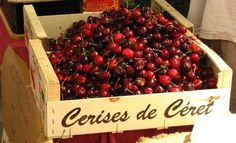 #Cherries have enjoyed the soil and climate of this area for over 150 years, allowing gourmets to enjoy the first French cherries.  The Cherry Festival takes place in May in #Céret, and offers two days of events based around a large Cherry market which brings together the local producers. With tastings, stoning and stone-spitting competitions and 'cherry' menus in the restaurants, the Catalan town turns red and rocks to the rhythm of the bandas and Sardana dancers. www.loveyourstay.com