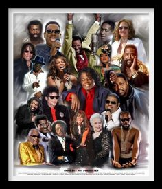 GONE BUT NOT FORGOTTEN: Nick Ashford, Chuck Brown, James Brown, Ray Charles, Sam Cooke, Heavy D, Marvin Gaye, Isaac Hayes, Whitney Houston, Phyllis Hyman, Michael Jackson, Etta James, Rick James, Gerald Levert, Teena Marie, Teddy Pendergrass, Otis Redding, David Ruffin, Donna Summer, Luther Vandross, Barry White.