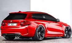 BMW M2 Shooting Brake - ... und den Praxisnutzen eines Kombis mit der Kraft eines BMW M, ohne ansatzweise nach spießiger Reihenhaussiedlung auszusehen. Ob in einem BMW M2 Shooting Brake wohl zwei Sitzreihen unterkämen? In seinem legitimen Vorgänger BMW Z3
