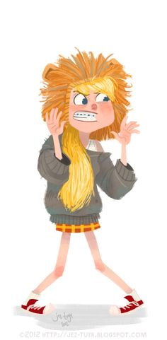 Jez Tuya Illustration: growl