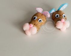 Easter Magnets TWO Wine Cork Crafts Easter by MaxplanationPhotos, $6.50