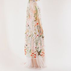 Product Info: The Secret Garden veil comprises of delicately embroidered flora and fauna on ivory tulle and hand-sewn jewelled bugs, bees, flies...