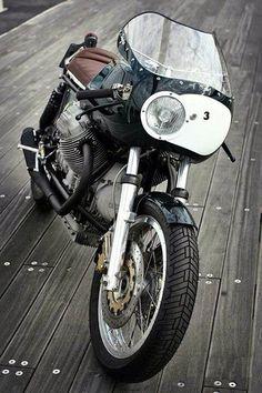 Moto Guzzi #motorcycles #caferacer #motos | caferacerpasion.com