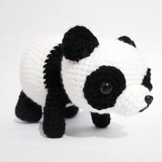 Paopao the Panda amigurumi crochet pattern by Sweet N Cute Creations